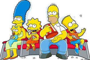 Сімпсонів зобразили на марках