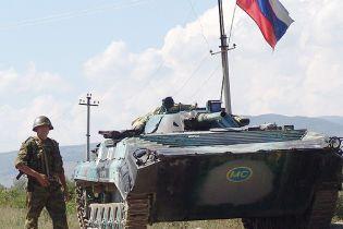 Россия снимает блокпосты на территории Грузии (видео)