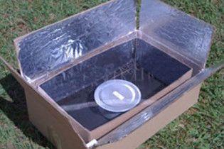 Норвежець створив екологічну картонну піч