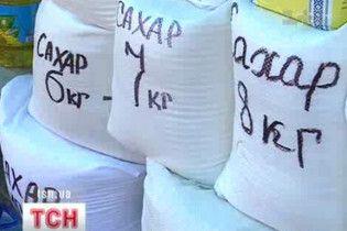 В Україні цукор подешевшає на третину