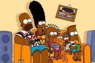 Темношкірі Сімпсони окупували Анголу