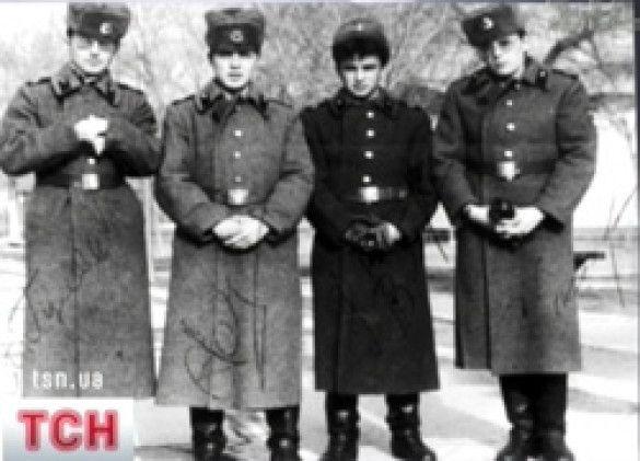 Віктор Павлік в армії