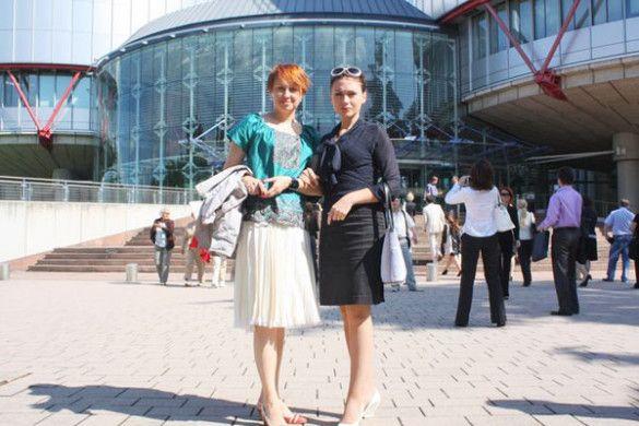 Ілона Довгань побувала у Стразбурзі