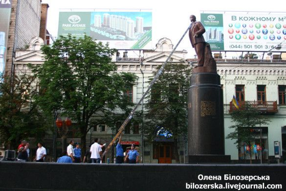 Памятник Леніну на бульварі Шевченка