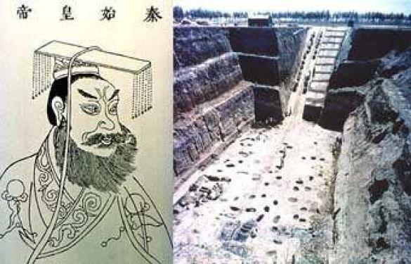 Поховання Цинь Шихуанді