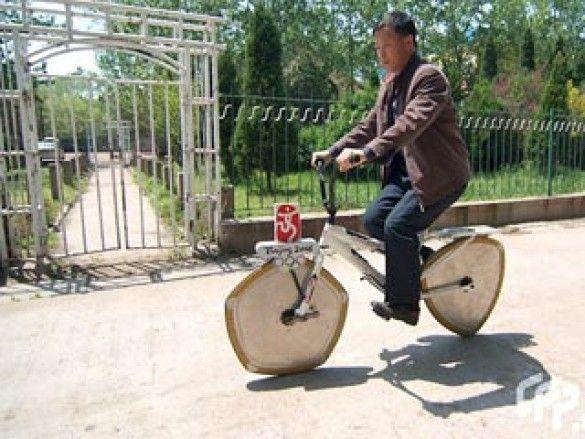 незвичайний велосипед
