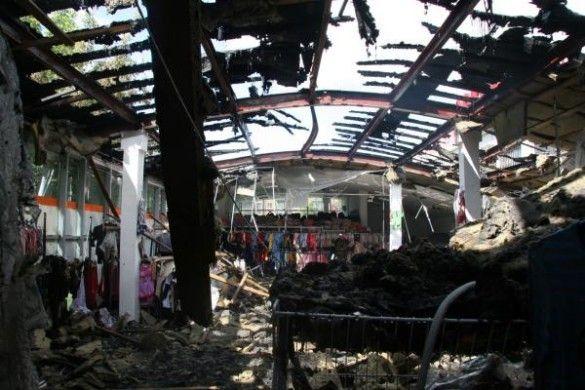 пожежа в магазині дитячого одягу