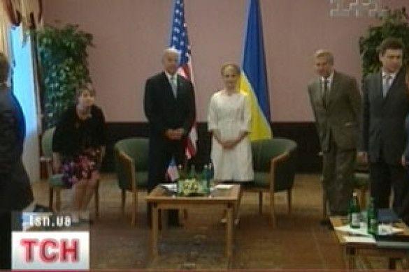 Байден та Тимошенко