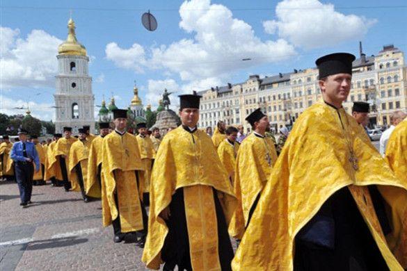 Патріарх Філарет. Святкування дня Хрещення Русі