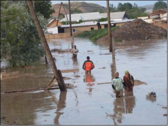 Таджикистан селевий потік