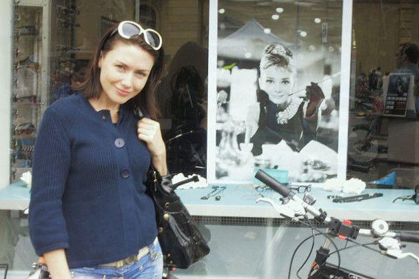 """""""Українська Одрі Хепберн"""" Ілона Довгань підкорила Страсбург"""