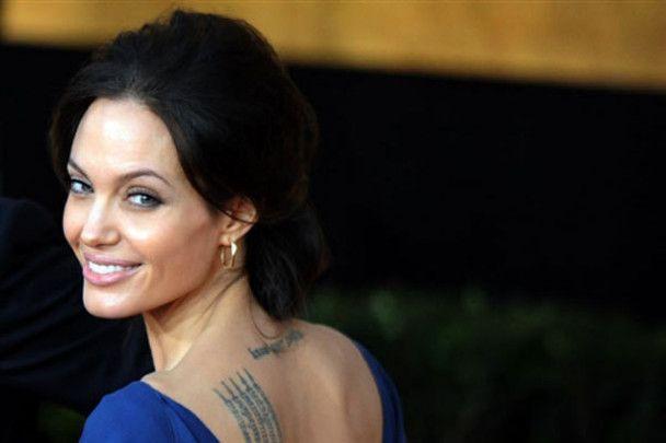 Анджеліна Джолі стала найкрасивішою жінкою десятиліття