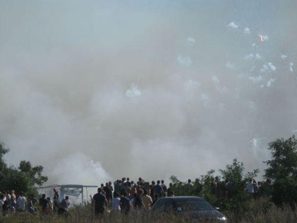 У Донецьку вибухнули піротехнічні склади