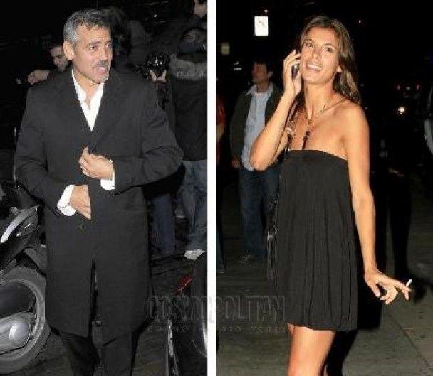 Джордж Клуні показав пристрасть до нової подружки