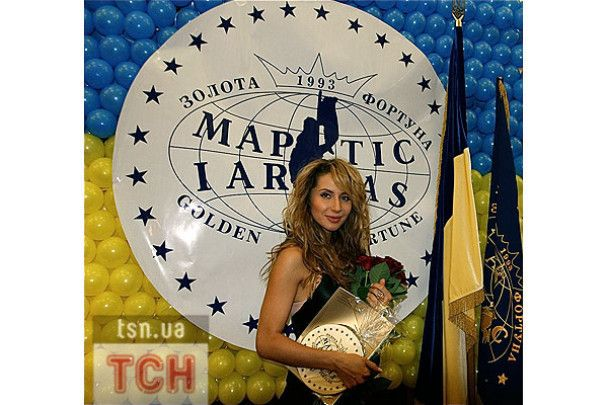 Лобода отримала нагороду за вагомий внесок у мистецтво