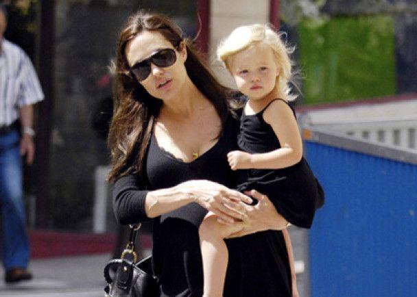 Джолі і Пітт зроблять із доньки зірку