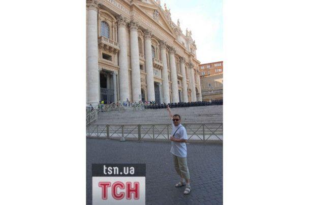Віктор Павлік підкорив Рим