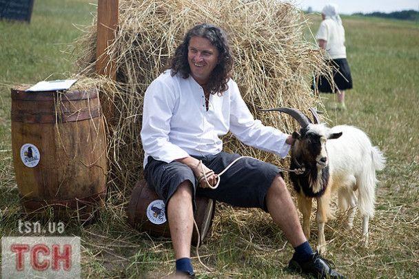 Скрябін привів козла на фестиваль