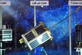 Іран зібрався вивести на орбіту до шести супутників