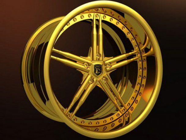 Творці броньовика із китових пенісів розробили золотий позашляховик