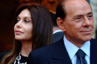 Берлусконі відкупився від дружини за 3,6 млн євро на рік