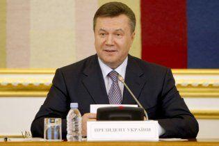 Янукович: конфліктам у вищих ешелонах влади покладено край