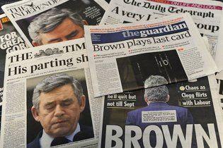 Гордон Браун звернувся до поліції з підозрою на журналістів