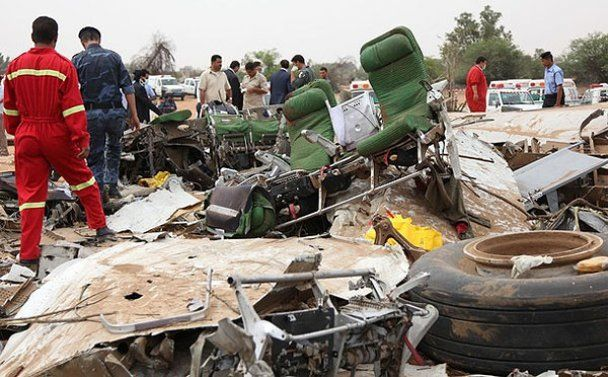 Авіакатастрофа А330 у столиці Лівії