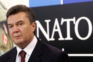 Янукович вважає нереальним вступ України в НАТО