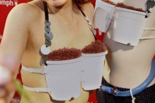 У Японії представили бюстгальтер для вирощування рису