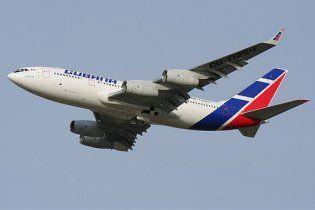 Літак з російською делегацією під час рейсу до Польщі потрапив у повітряну яму