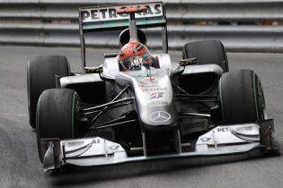 Міхаеля Шумахера позбавили очок на Гран-прі Монако