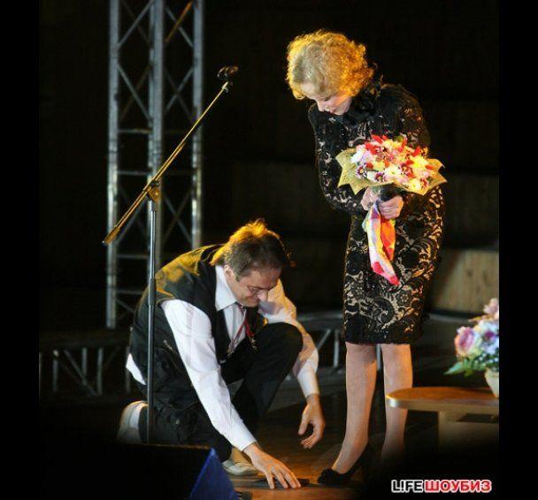 Глядачі не прийшли на концерт Людмили Гурченко