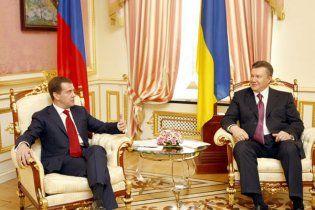Янукович та Мєдвєдєв зустрілися у Кремлі