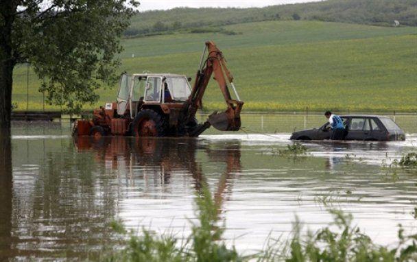 Центральну і Східну Європу затопило