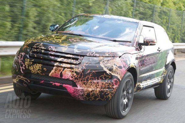 Оприлюднені перші фото новітнього позашляховика Land Rover