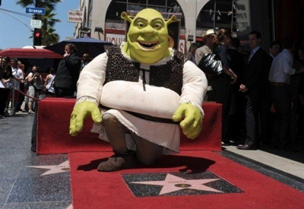 На Алеї слави Голлівуду відкрили зірку Шреку