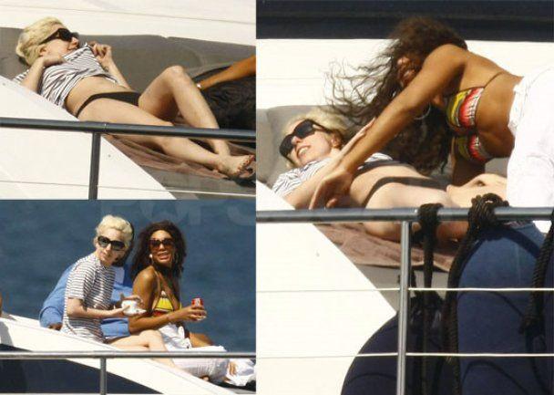 Папараці зняли Lady GaGa в обіймах незнайомки