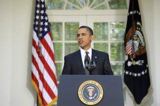 Під час виступу Обами в Білому домі пробігла миша