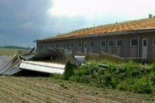 Торнадо й урагани обрушилися на Бранденбург і Саксонію: загинула дитина