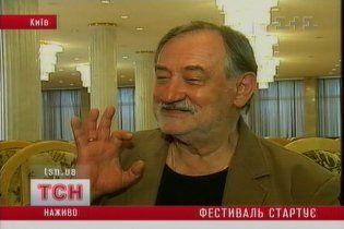 У Києві стартував міжнародний кінофестиваль, заснований Ступкою