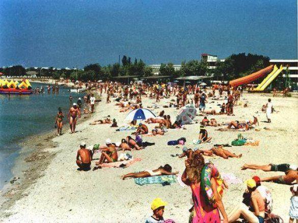 Пляж у Міжводному (www.mezhvodnoe.com)