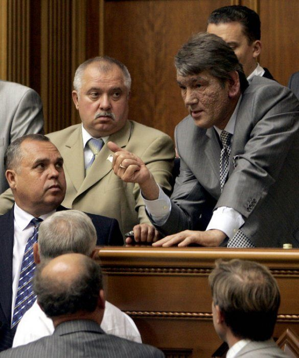 Віктор Ющенко з депутатами