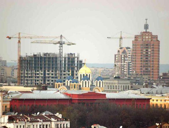 Хаотична забудова Києва