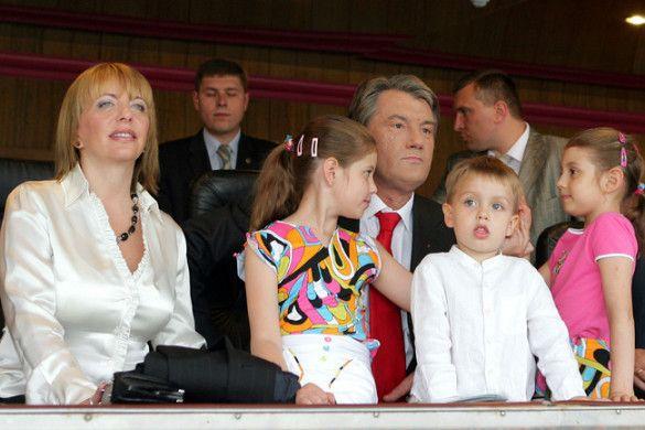 Ющенко і родина