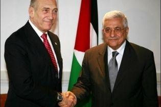Ольмерт и Аббас обсудили перспективы мира