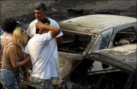 Пожежа в Греції