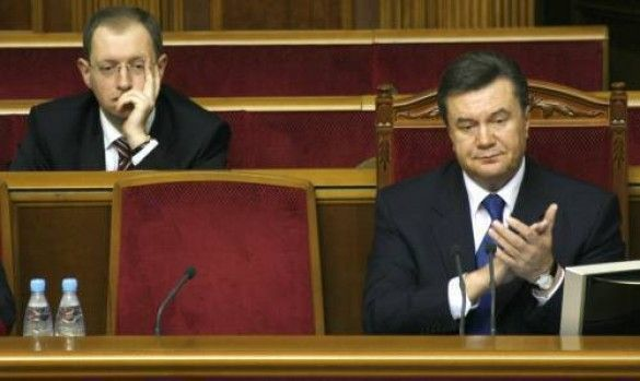 Віктор Янукович і Арсеній Яценюк