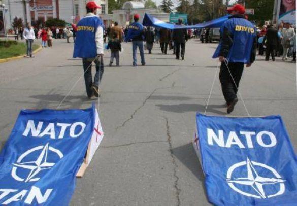 Акція проти вступу до НАТО