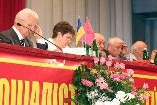 На з'їзді СПУ помер секретар політради партії
